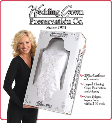 Wedding Gown Preservation Kits - Wedding Dress Preservation Kits ...